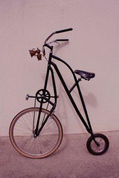 tall custom bike
