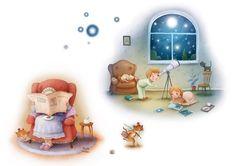 Nursery Rhyme Illustrations - Richard Johnson Illustrator