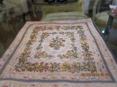 Katie Arthur - embroidered quilt