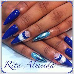 Foil azul