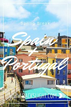 Click through for the perfect Spring Break itinerary to explore the cities throughout Spain and Portugal with recommendations for where to stay, what to do, where to drink, and where to find the best flamenco scene. Europe On A Budget, Europe Travel Guide, Travel Packing, Budget Travel, Travel Guides, Travel Destinations, Spain And Portugal, Portugal Travel, Portugal Trip