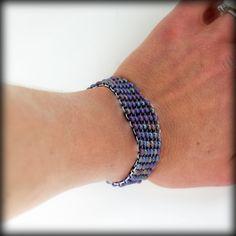 Flat Peyote Stitch Bracelets With Instructions