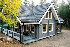 House country small floor plans 52 ideas for 2019 Small Floor Plans, Cottage Floor Plans, Small House Plans, House Floor Plans, Small Loft, Exterior House Colors, Exterior Design, House In The Woods, Log Homes
