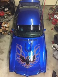 Pontiac Trans-Am Blue Firebird Amc Javelin, Rat Rods, Supercars, Plymouth, Chevy, Chevrolet Impala, Ford Mustang, Pontiac Firebird Trans Am, Firebird Car