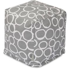 Majestic Home Goods Fusion Cube, Gray