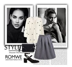 """""""ROMWE"""" by lejlasaric ❤ liked on Polyvore featuring Rebecca Minkoff, women's clothing, women, female, woman, misses and juniors"""