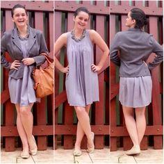 blog v@ LOOKS | por leila diniz: Mais 3 looks dos dias de ausência: tem jeans, vestido, casaqueto...