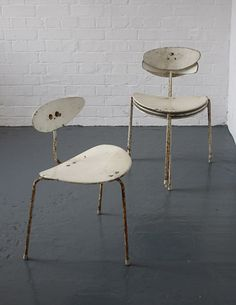CHAIRS BY ERNEST RACE for the British pavilion at the Brussels World's fair in 1958
