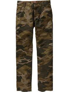 Boys Skinny Twill Khakis size 7