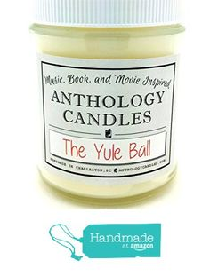 The Yule Ball Candle - Harry Potter Candle, Christmas Candle, Hogwarts Candle from Anthology Candles
