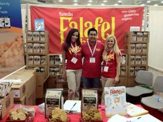 Falafel Paradise! Flamous Falafel Chips at Expo East #expoeast #flamous #falafelchips