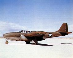 USAF FIRST JET FIGHTER - BELL P-59 AIRACOMET - FIRST FLLIGHT OCT 1, 1941