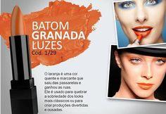 Novo Batom Luzes Racco - cor Granada