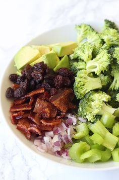 Avocado Bacon Broccoli Salad (Paleo, AIP, Whole 30) - Unbound Wellness