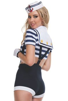 Sexy Pin Up Style Harbor Hottie Sailor Costume for by Spurst