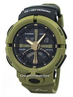 a870c93bd38 Casio G-Shock Analog Digital 200M GA-500P-3A GA500P-3A Men s Watch