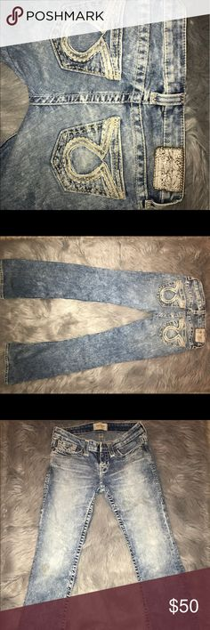 Big Star vintage  Liv Boot Cut Jeans Liv Bootcut Faded out Big Star Jeans. Super soft. Holds shape. Tight in all the right places. 25 R. Big Star Jeans Boot Cut