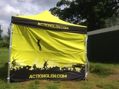 Gazebo - you are not going to miss us this weekend at the Perthshire Adventure Festival.