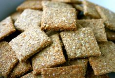 Whole Grain Crackers Recipe
