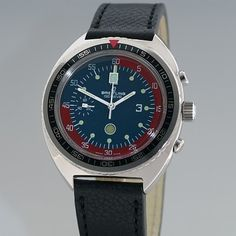 Breitling vintage soccer Referee's Watch.