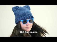Quick And Easy Cat Ear Beanie – Crafty House