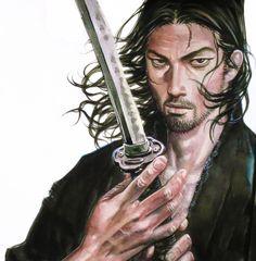 Vagabond Manga, Musashi, Samurai Art, Pose Reference, Poses, Artwork, Character, Instagram, Awesome