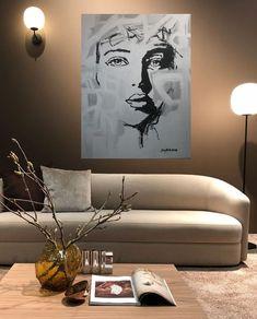 Maleri på vegg 3 Kunst