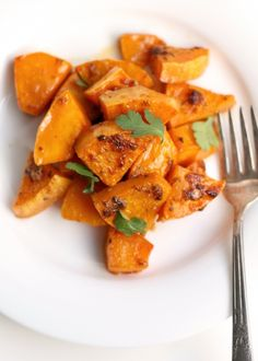 Chipotle glazed squash.  Mmmmm!  Squash is so good for us, and this is a great new way to enjoy it!