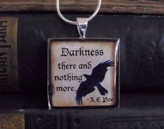 Darkness there and nothing more A.E. Poe