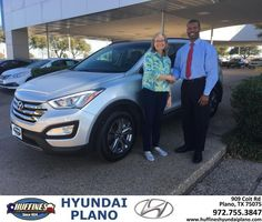 https://flic.kr/p/R7qYNC | Congratulations Lisa on your #Hyundai #Santa Fe Sport from Frank White at Huffines Hyundai Plano! | deliverymaxx.com/DealerReviews.aspx?DealerCode=H057