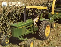 John Deere 20 Series Brochure:  3020/4020/4320/4620/5020/7020.For the record there is no 5020 or 7020 in this brochure.But what you will find in the 61hp 2520,71hp 3020,96hp 4000,95hp 4020,116hp 4320,135hp 4620,175 hp 6030.By this point in John Deere the 5020 had been replaced the 6030 & the 7020 has its own brochure with the new 7520.In 1970 John Deere introduced the 4320,4620,7020,1971 brought the 2030,6030,7520.1972 brought 4030,4230,4430,4630