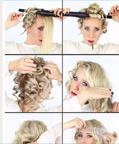 Roaring 20's Hairstyles For Long Hair Flapper Hairstyles On Pinterest 1920S Hairstyles Flapper Hair
