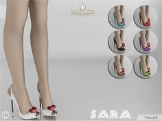 The Sims Resource: Madlen Sara Shoes by MJ95 • Sims 4 Downloads