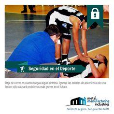 A partir de hoy, cuando tengas algún síntoma extraño mientras practicas algún deporte, detente y busca ayuda. Es por tu #seguridad.