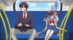 Usagi Tsukino & Mamuro Chiba - Sailor Moon Crystal, ep. 3