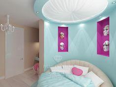 Теaтральный мир в интерьере детской комнаты для девочки