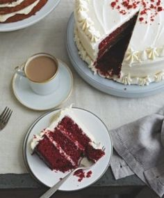 Southern Red Velvet Cake with Cream Cheese Frosting