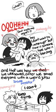 Naruto Shippuden 699 parody fan comic by malengil. Page 3