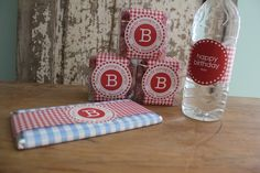 12 Birthday Labels for Party Favors or Gifts