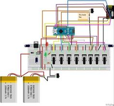 """The instruction """"How to build 8 Channel Transmitter nrf24l01 Arduino"""" introduce how to make 8 channel transmitter from 4 channel RC plane.All existing..."""