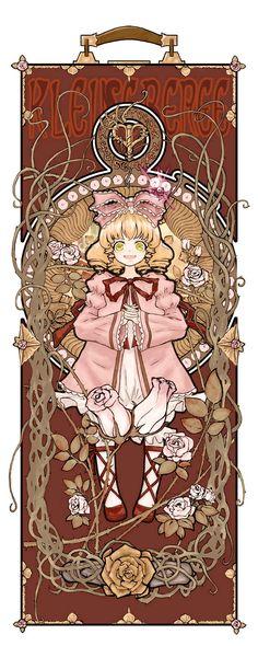雛苺 Hinaichigo / Kleine Beere (第6ドール) Anime Sexy, Anime Manga, Anime Art, Art Nouveau, Fandom, Anime Kawaii, Manga Pictures, Manga Games, Manga Comics