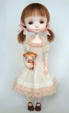 Jessie - original doll by Ana Salvador