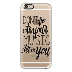 iPhone 6 Plus/6/5/5s/5c Case - Music Still in You ($40) ❤ liked on Polyvore featuring accessories, tech accessories, iphone case, slim iphone case, apple iphone cases, iphone cases and iphone cover case