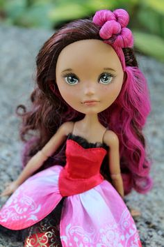 Reserved for Lilly OOAK Ever After High Briar Rose doll custom face-up repaint on Etsy, $55.00