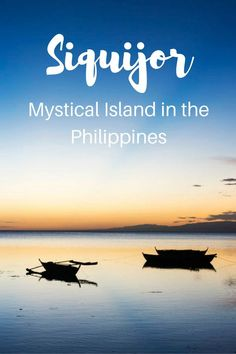 Things to do in Siquijor, Philippines - discover the best beaches, Cambugahay waterfalls, Salagdoong, the magical balete tree, Lazi and more!