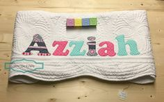 Personalized baby quilt personalized baby gift monogrammed quilt personalized baby quilt personalized baby gift monogrammed quilt baby shower gift baby dedication gift pink and mint baby jordyn negle Image collections