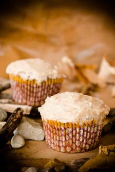Paleo Diet Carrot Cupcakes #cupcakes #cupcakeideas #cupcakerecipes #food #yummy #sweet #delicious #cupcake