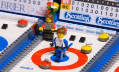 LEGO Curling Rink (View #1 of 3) Lego Sports, Sports Stadium, Olympic Sports, Curling Game, Baby Curls, Rhyme And Reason, Winter Olympics, Sports Humor, The Elf