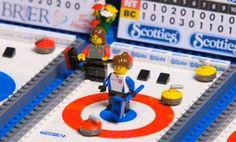 Curling Lego!