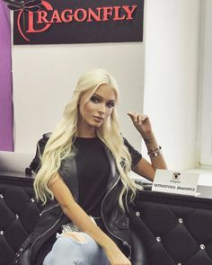 "Alena Shishkova - ""I usually is not difficult to determine whether the face of permanent makeup, but today was..."""